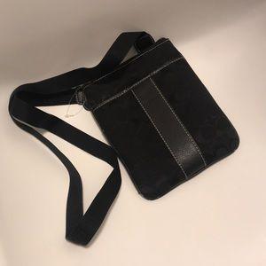 Coach crossbody black bag